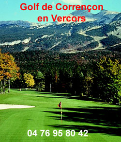 Golf de Corrençon en Vercors le club de golf de correncon en vercors