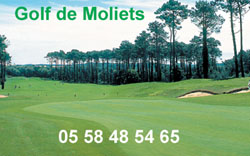 Golf de Moliets le club de golf de moliets